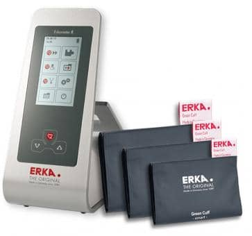 ERKA Erkameter E Upper Arm Blood Pressure Monitor, Green Cuf