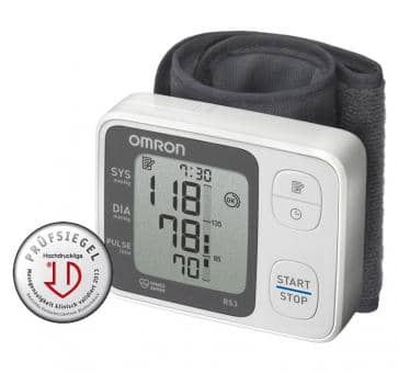 OMRON RS3 (HEM-6130-D) wrist blood pressure monitor