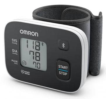 OMRON RS3 Intelli IT (HEM-6161T-D) Wrist Blood Pressure Moni